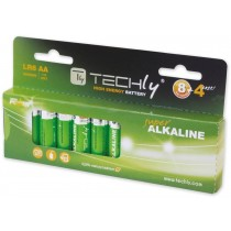 Blister 12 Batterie High Power Stilo AA Alcaline LR06 1,5V - Techly - IBT-KAL-LR06-B12T