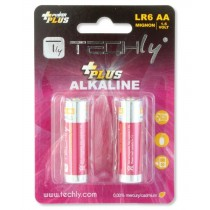 Blister 2 Batterie Power Plus Stilo AA Alcaline LR06 1,5V - Techly - IBT-KAP-LR06-B2T