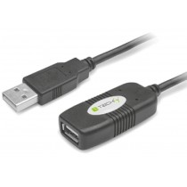 Cavo Prolunga Attivo USB2.0 Hi-Speed 10m-Techly-IUSB-REP10TY