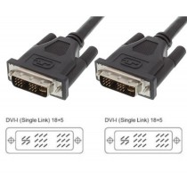 Cavo DVI analogico/digitale M/M Single Link 1,8 m (DVI-I) - Techly - ICOC DVI-9000