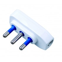 Spina ribassata 2P+T 16A Bianco - Techly - IPW-SP16-WH9