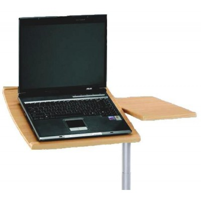 Table for Laptop Color Beech - Techly - ICA-TB B001N-3