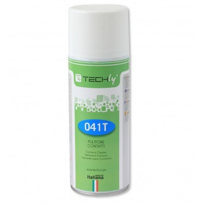 Contacts Electrical and Electronic Cleaning Spray 400ml - Techly - ICA-CA 041T-1