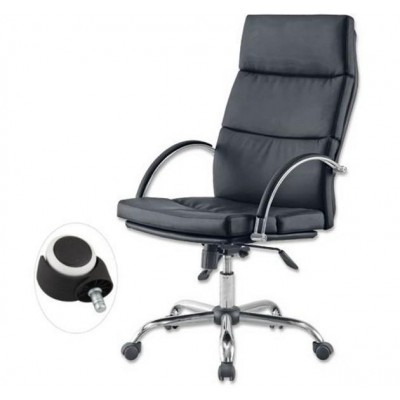 Directional Chrome Armchair Combi - Techly - ICA-CT ES107-1