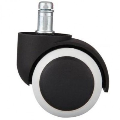 Clip Wheel for Office Chair in Polyurethane - Techly - ICA-CT 891-WHE-1