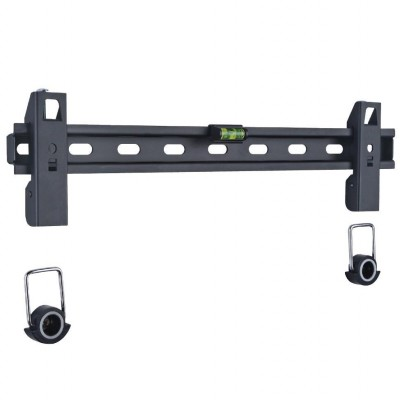 """Fixed Wall Bracket Slim LED LCD TV with Spacers 40-65 """"Black - Techly - ICA-PLB 139L-1"""
