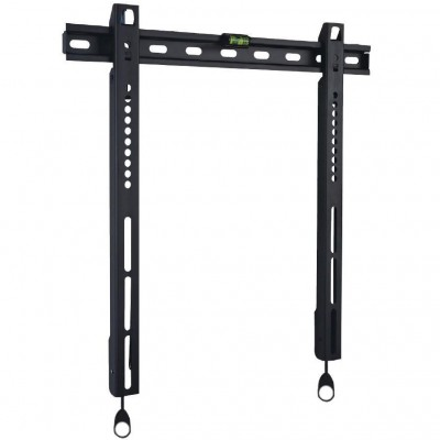 """Wall Fixed Support UltraSlim LED TV LCD 23-55"""" Black - Techly - ICA-PLB 140M-1"""
