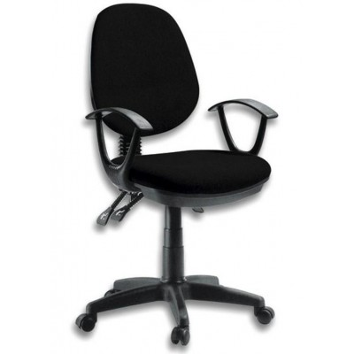 Delux Office Chair Black - Techly - ICA-CT P18BK-0
