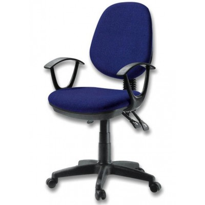 Delux Office Chair Blue - Techly - ICA-CT P18BL-1