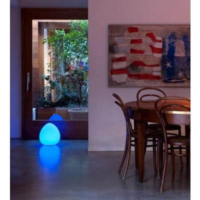 Lampada LED Multicolor da Arredo Rock - Techly - I-LED ROCK-6
