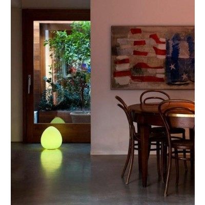 Lampada LED Multicolor da Arredo Rock - Techly - I-LED ROCK-7