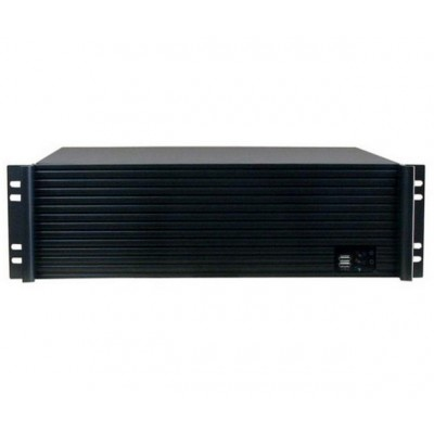 "Industrial 19"" Rack Chassis 3U Ultra Compact Black - Techly - I-CASE IPC-338-1"