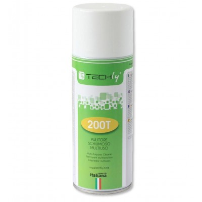 Multi-Purpose Foamy Cleaner 400ml - Techly - ICA-CA 200T-1