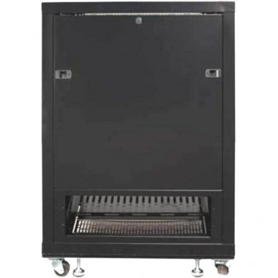"Audio Video Rack Cabinet 19"" 15U 600x600 Black - Techly Professional - I-CASE AV-2115BKTY-6"