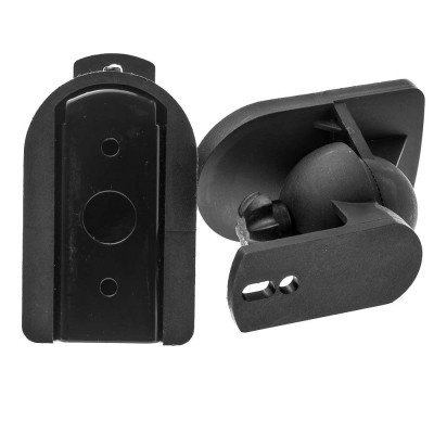 Pair Speakers Wall Brackets Universal Adjustable - Techly - ICA-SP SS28-9