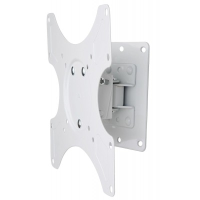 Wall Support for LCD LED 19-37' Tiltable 1 Joint White - Techly - ICA-LCD 2900WH-1