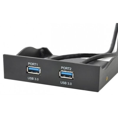 "Front Panel  3.5"" 2 ports USB 3.0 - Techly Np - ICOC SLOT-P31-1"