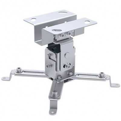 Projector Ceiling Support Extension 130mm Silver - Techly - ICA-PM 2S-1