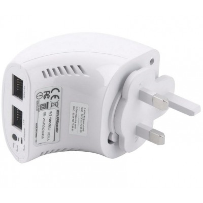 Mini WiFi Router 750Mbps Dual Band Repeater Repeater5 with UK plug - Techly - I-WL-REPEATER5/UK-3