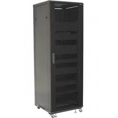 "Audio Video Rack Cabinet 19 ""36U 600x600 Black - Techly Professional - I-CASE AV-2136BKTY-1"