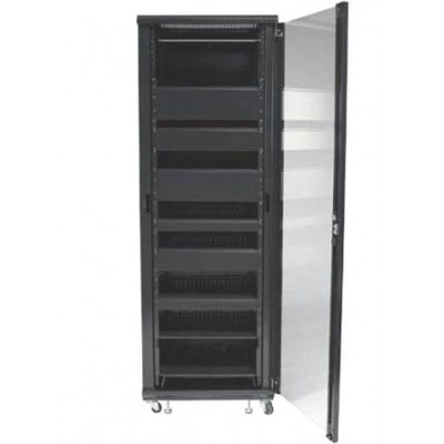 "Audio Video Rack Cabinet 19 ""36U 600x600 Black - Techly Professional - I-CASE AV-2136BKTY-3"