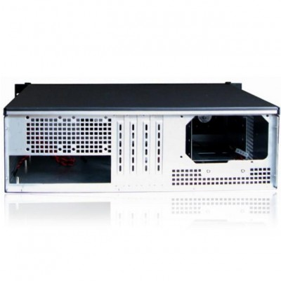 "Industrial 19"" Rack Chassis 3U Ultra Compact Black - Techly - I-CASE IPC-338-2"