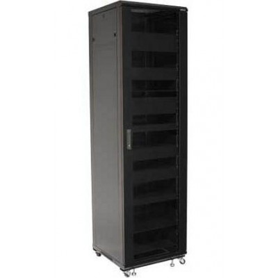 "Audio Video Rack Cabinet 19 ""44U 600x600 Black - Techly Professional - I-CASE AV-2144BKTY-1"