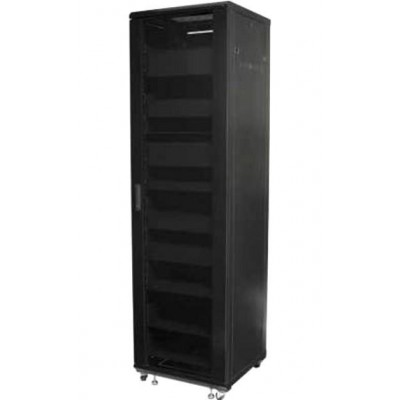 "Audio Video Rack Cabinet 19 ""44U 600x600 Black - Techly Professional - I-CASE AV-2144BKTY-3"