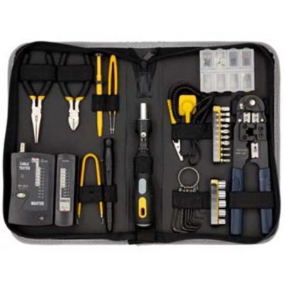 Network Tool Kit 55 pcs - Techly Np - I-CTK 55NET-1