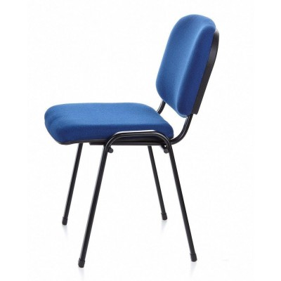 Conference Chair Blue Fabric - Techly - ICA-CT 050BLU-15