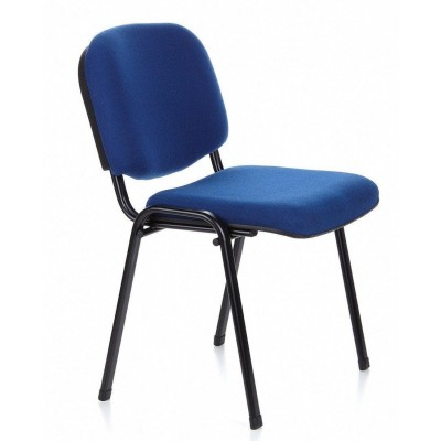 Conference Chair Blue Fabric - Techly - ICA-CT 050BLU-3