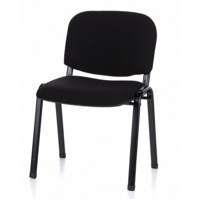Conference Chair in Black Fabric - Techly - ICA-CT 050BLK-17