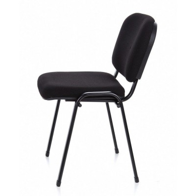 Conference Chair in Black Fabric - Techly - ICA-CT 050BLK-14
