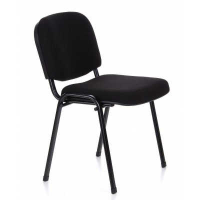 Conference Chair in Black Fabric - Techly - ICA-CT 050BLK-2