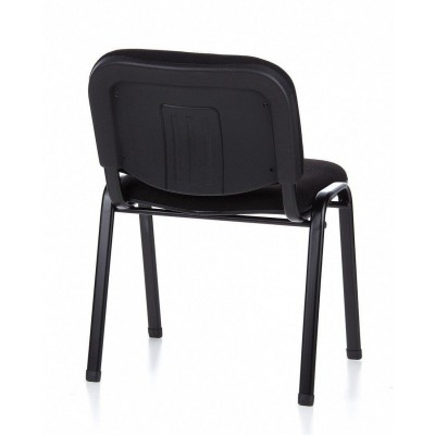 Conference Chair in Black Fabric - Techly - ICA-CT 050BLK-8