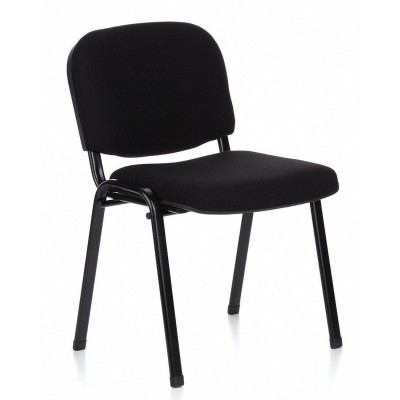 Conference Chair in Black Fabric - Techly - ICA-CT 050BLK-3