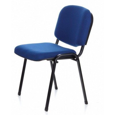 Conference Chair Blue Fabric - Techly - ICA-CT 050BLU-16