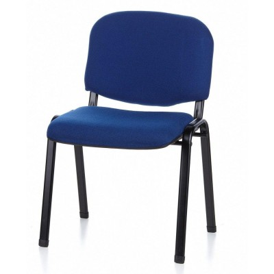 Conference Chair Blue Fabric - Techly - ICA-CT 050BLU-18