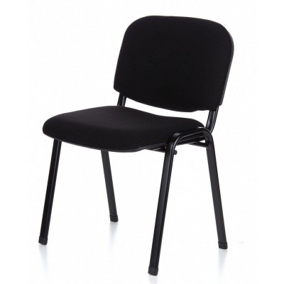 Conference Chair in Black Fabric - Techly - ICA-CT 050BLK-16