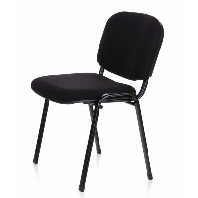 Conference Chair in Black Fabric - Techly - ICA-CT 050BLK-15