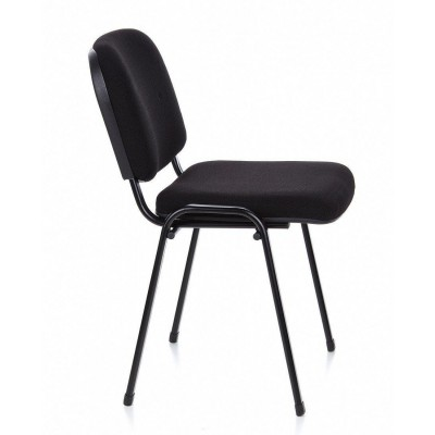 Conference Chair in Black Fabric - Techly - ICA-CT 050BLK-4