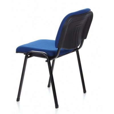 Conference Chair Blue Fabric - Techly - ICA-CT 050BLU-13