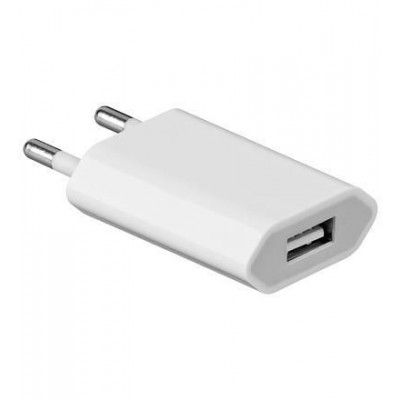 Transformer from Italian Network to USB White - Techly - IPW-USB-EC-4