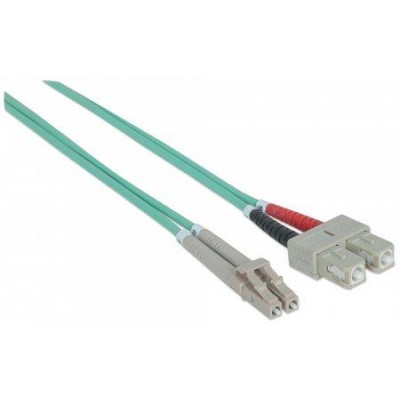 SC/LC Multimode 50/125 OM3 3m Fiber Optics Cable - Techly Professional - ILWL D5-SCLC-030/OM3-2
