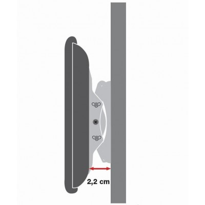 """Wall Mount for LED LCD TV 42-80"""" Ultra Slim Fixed H400mm - Techly - ICA-PLB 840-3"""