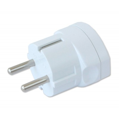 One way adaptor Schuko plug to italian socket - Techly - IPW-IC216-3
