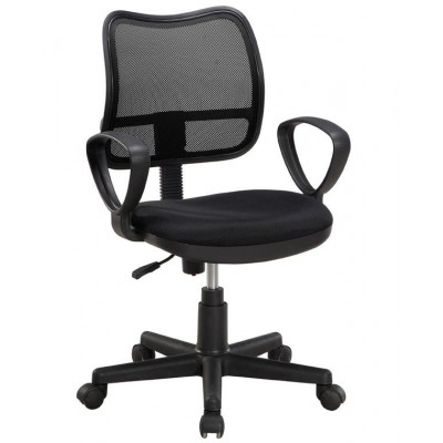 AIR Office Chair Black - Techly - ICA-CT T046BK-0