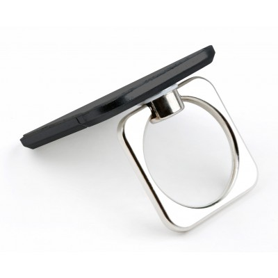 Smart ring and stand for Smartphone - Techly - I-SMART-RINGB-2