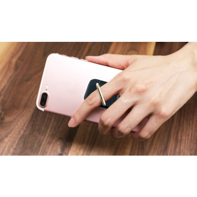Smart ring and stand for Smartphone - Techly - I-SMART-RINGB-9