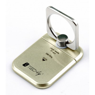 Smart ring and stand for Smartphone - Techly - I-SMART-RINGG-13